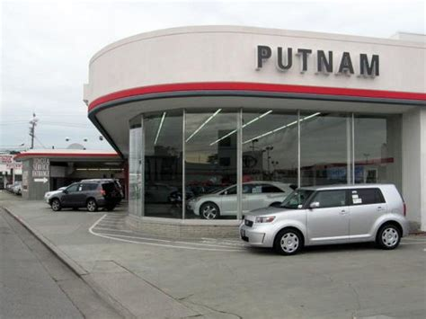 Putnam Toyota Putnam Toyota Car Dealership In Burlingame Ca 94010