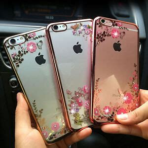 girl floral diamond protect phone case cover shell  iphoness   ebay