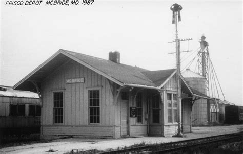 mcbride missouri depot the frisco a look back at the