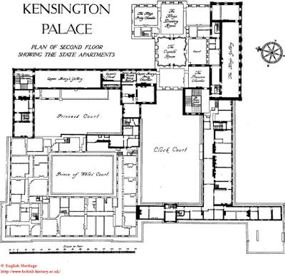 palace place floor plans architect design inside kensington palace