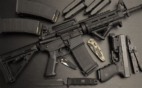 weapons ar 15 glock 21 sog wallpapers