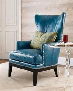 Teal Reading Chair Donovan Wing Chair Neiman