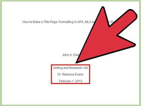 How To Make A Title Page For A Research Paper - 3 ways to make a title page wikihow