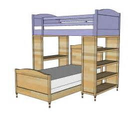 build a bunk bed white chelsea top bunk diy projects