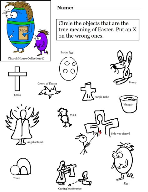 printable christian easter activity sheets easter egg with bible worksheet circle the object