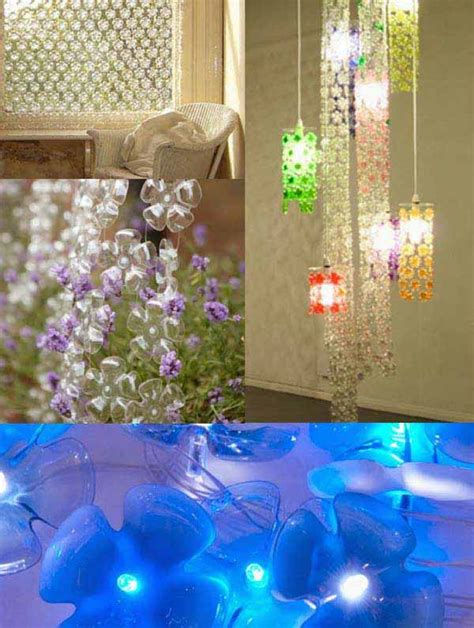 Diy Recycled Home Decor by 40 Diy Decorating Ideas With Recycled Plastic Bottles