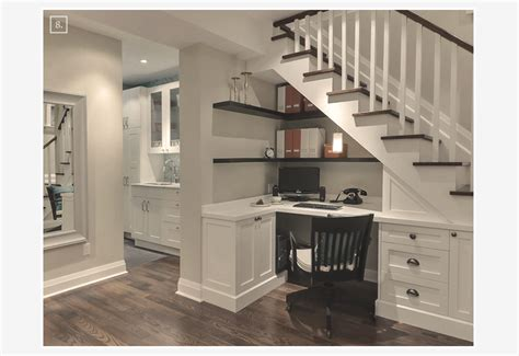 Ideas for turning a basement space into a home office home tree