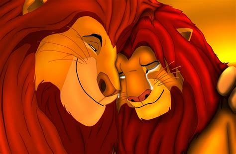 this is the lion kings simba and mufasa in real life the lion king images simba and mufasa wallpaper photos