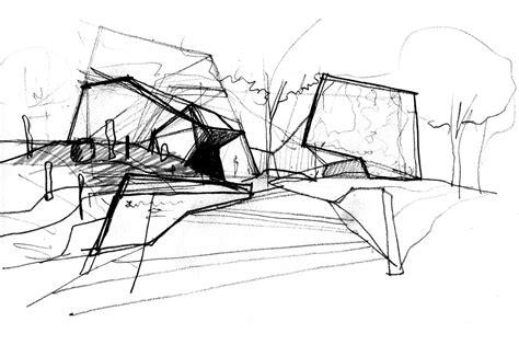 Studio C Sketches by Gallery Of Emerging Practices In India Abin Design Studio 7