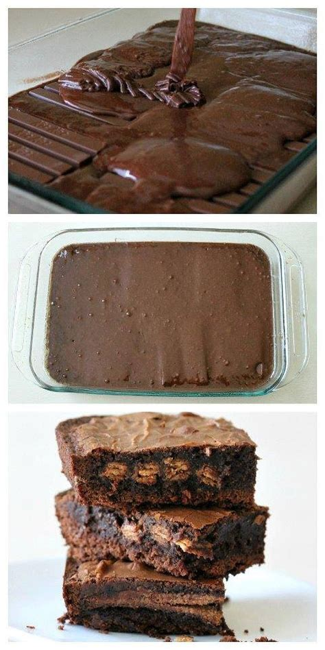 Kitkat Brownie how to make easy kit brownies our home sweet home