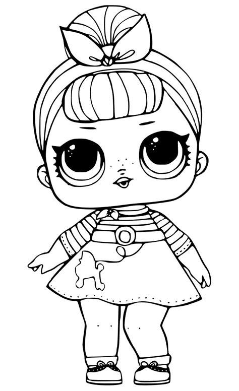 Coloring Page Lol Dolls by Desenhos Para Colorir Boneca Lol Como Fazer