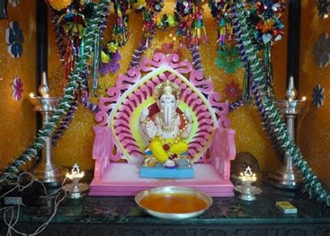 home decoration of ganesh festival ganesh festival 2017 mumbai decoration ideas at home