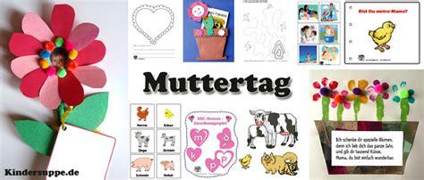 Muttertag Basteln Kindergarten