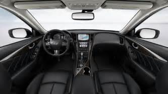 Infiniti Q50 Colors Infiniti 2014 Q50 Hybrid Interior Color Graphite Leather