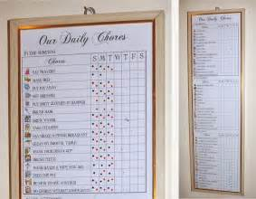 free chore chart template the crafty work at home momma our lovely chore