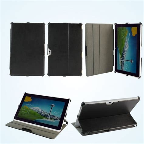 Cover For Acer Iconia W511 leather for acer iconia tab w510 w511 cover pouch protector black ebay