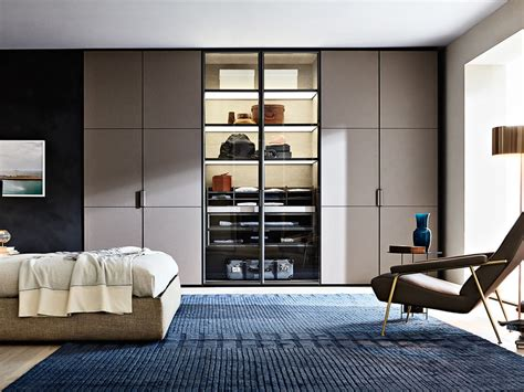 molteni c gliss master plaster wardrobes by vincent