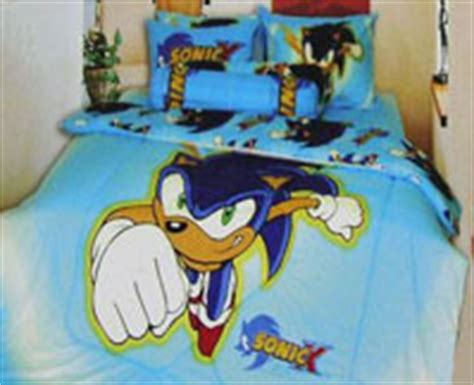 sonic bedroom usa sonic the hedgehog home decor