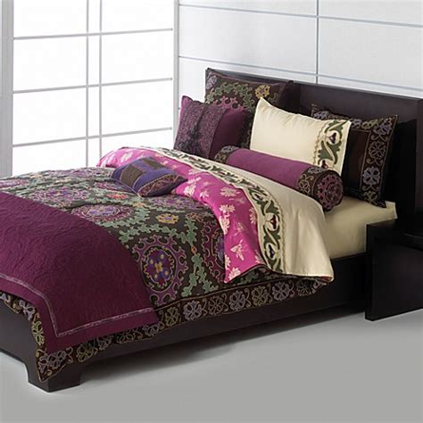 suzani bedding natori suzani duvet cover bed bath beyond