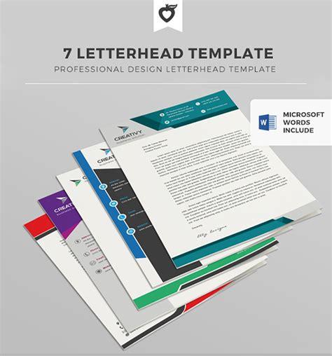 Free Web Design Software 25 professional modern letterhead templates