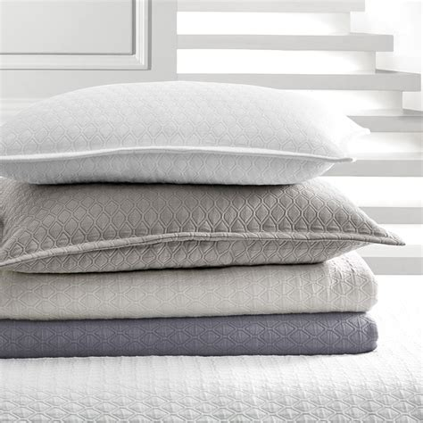 vera wang coverlets vera wang puckered diamond matelasse coverlets from