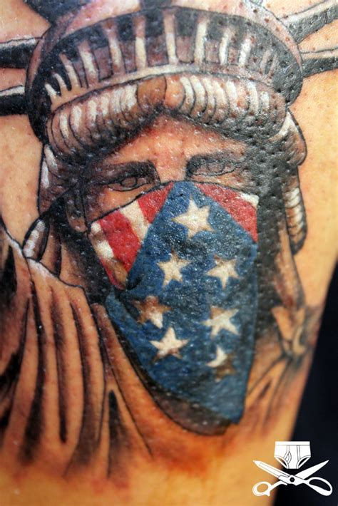 liberty tattoos statue of liberty hautedraws