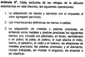 gaceta oficial 40864 exoneracin en el pago de islr de publicado en gaceta oficial 41 239 decreto de rebaja