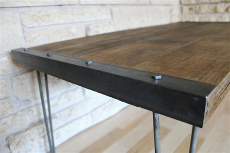 Rustic Coffee Table Legs Simple Rustic Industrial Diy Coffee Table Handmadeology