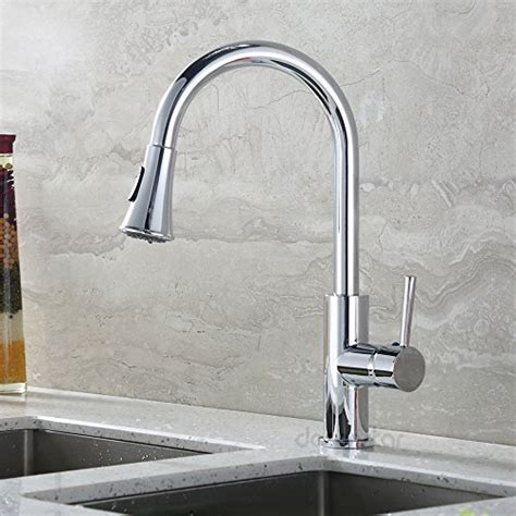 decor star tpc11 tb contemporary pull down spray kitchen decor star kitchen chrome faucet chrome kitchen decor