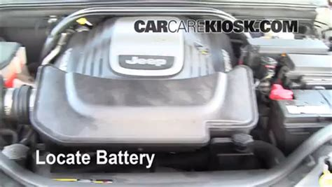 2005 Jeep Grand Battery Battery Replacement 2005 2010 Jeep Grand 2005