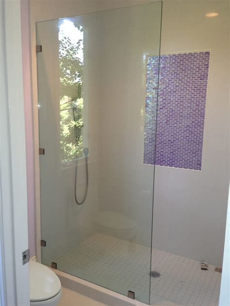 Residential Room Dividers shower screen rancho sante fe patriot glass and mirror
