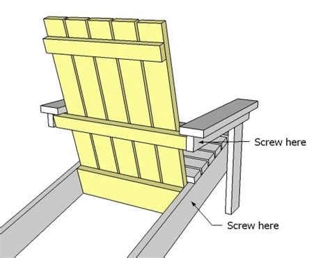 ana white how to build a super easy little adirondack chair diy projects