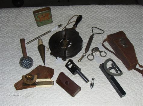 Survey Tools - collecting obsolete surveying instruments early american industries association