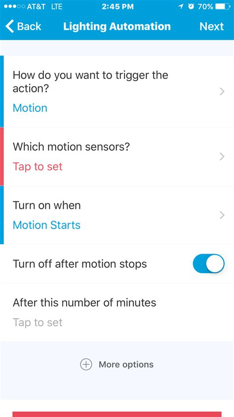 smartthings turn off light after time turn lights off after so many minutes smartapp ideas