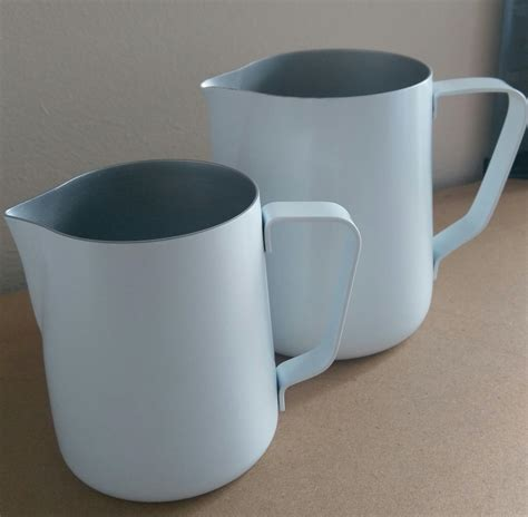 Premium Barista Milk Pitcher 250 Ml coffee omega milk pitcher white 600ml coffee omega uk ltd