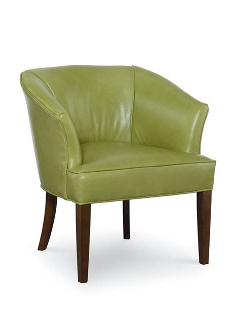 Accent Chair Leather Shell Point Leather Accent Chair Cottage Home 174