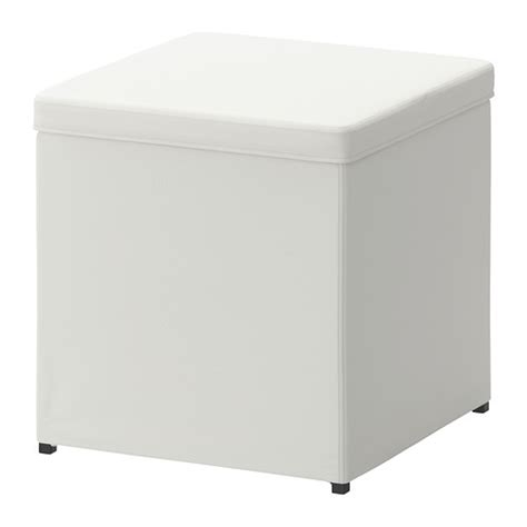Ottoman With Storage Ikea Bosn 196 S Ottoman With Storage Ransta White Ikea