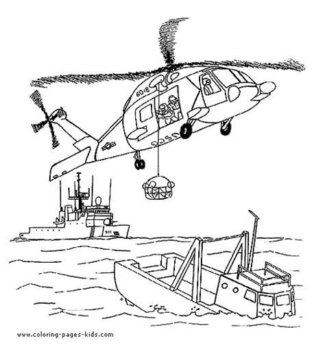 fireboat worksheets rescue helicopter coloring pages coloring pages