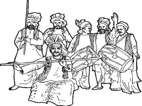 coloring pages festivals india baisakhi coloring pages vaisakhi festival family