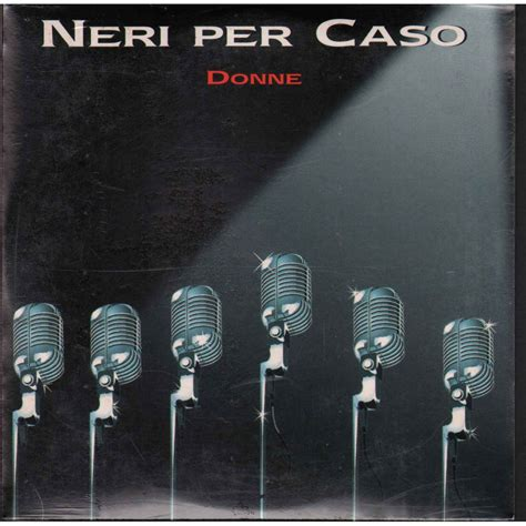 donne neri per caso neri per caso cd s singolo donne easy records