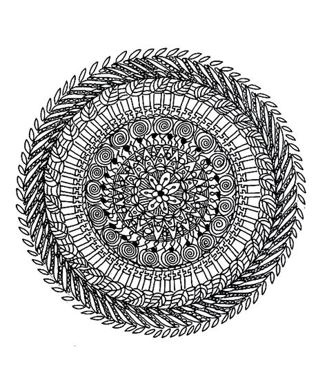 mandala coloring pages difficult difficult mandala coloring pages coloring home