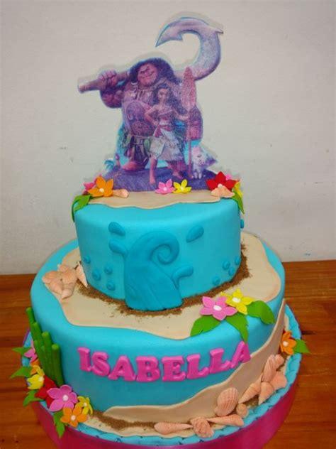 moana boat fondant tutorial moana cake cake by monica lilian batalla cakesdecor