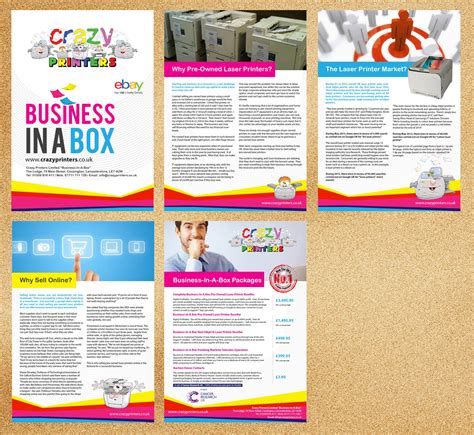 Brochure Design For The Printer Franchise Company Limited By Priyo Subarkah Design 2995759 Franchise Brochure Templates
