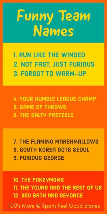 quiz themed team names funny team names for your squad or group fun list squad