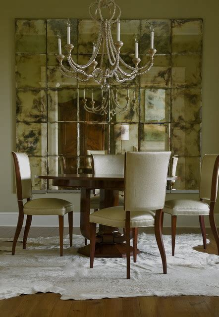 beautiful antique mirror tiles wall decor