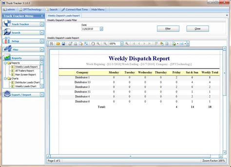 dispatch template dispatchsoft trucking dispatch software screen