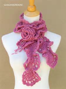patterns for crocheted scarves 171 free patterns