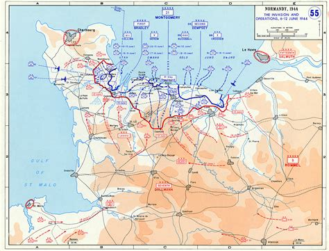 normandy map background overview of d day