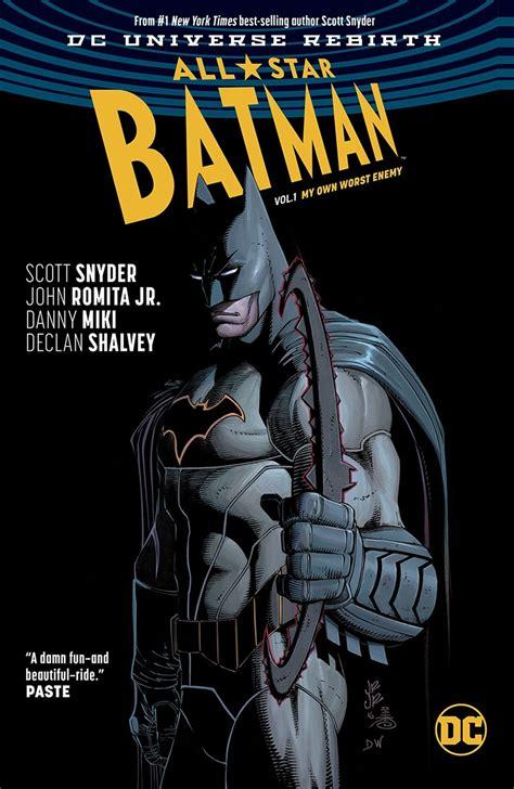 libro all star batman 2016 vol rebirth vol 1s dc
