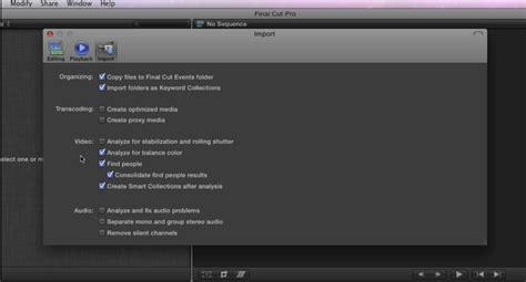 final cut pro rumors leaked screenshots from final cut pro x and motion 5